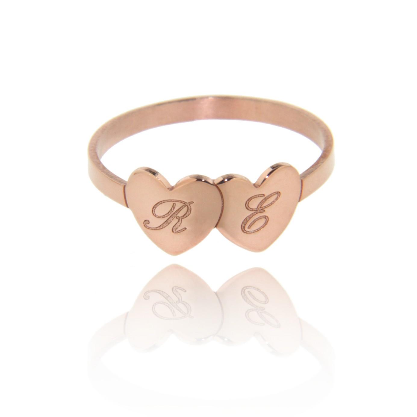 Io&Te- Anello personalizzabile (rosa)