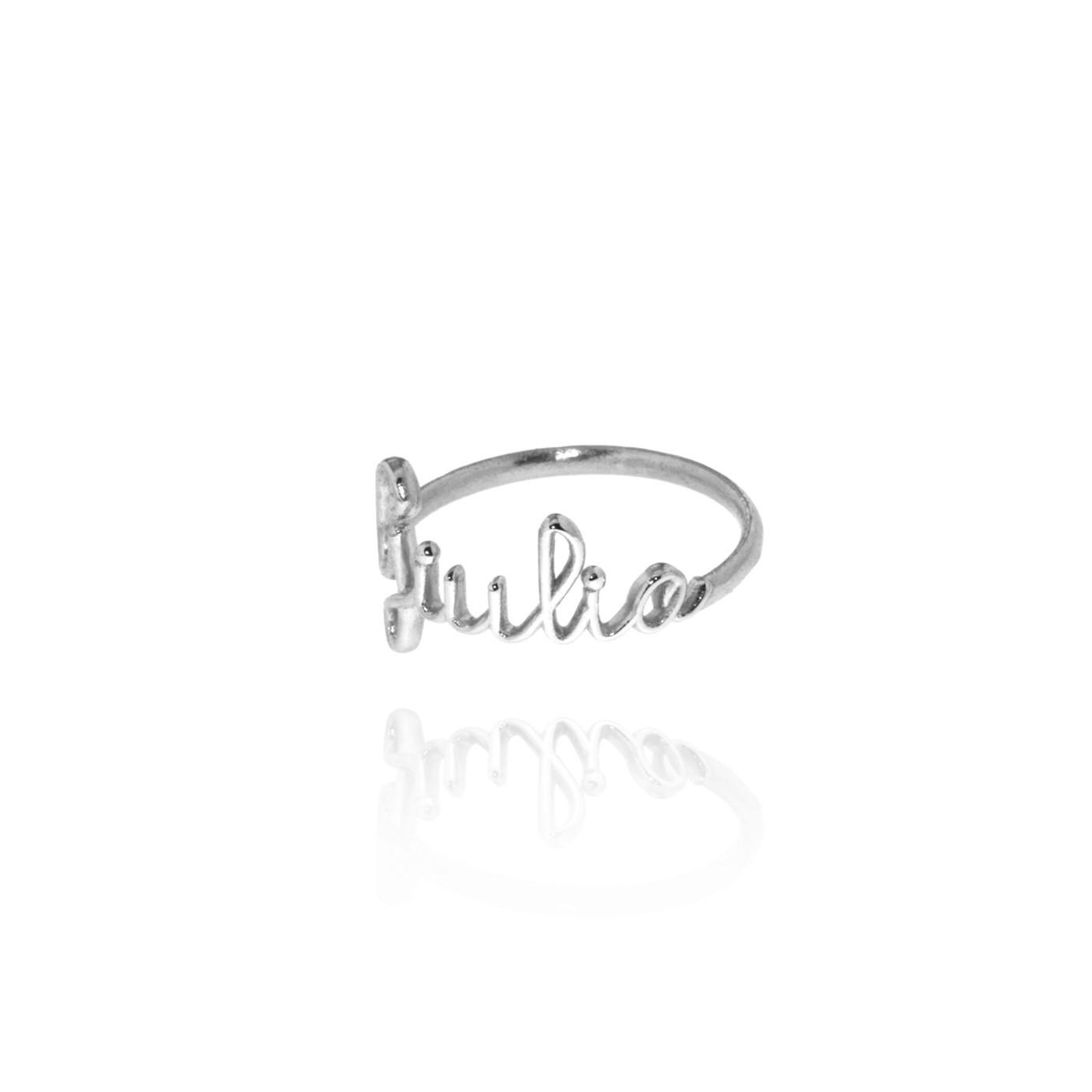 Biro - anello personalizzabile (bianco)