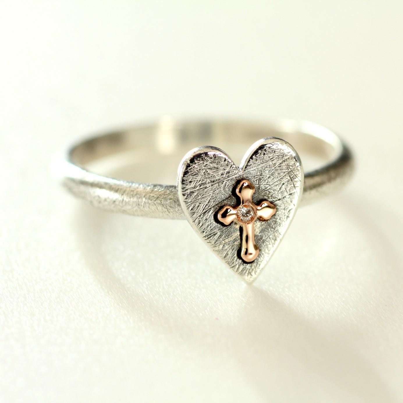 Notre-Dame - anello con Brillante