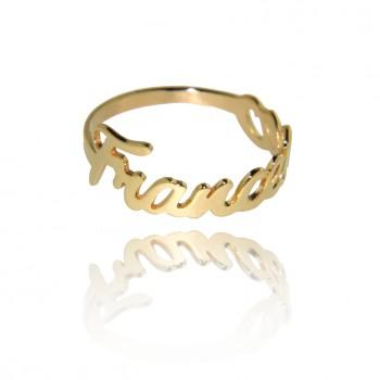 Nontiscordardimé - anello personalizzabile (Giallo)