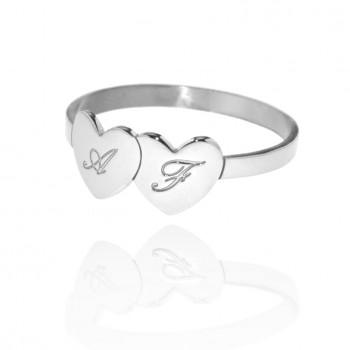 Io&Te- Anello personalizzabile (Bianco)