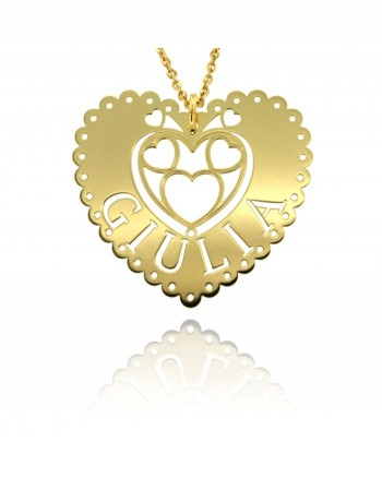 Queen of Hearts - collana