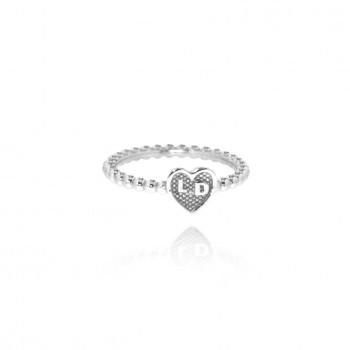 Venus - anello personalizzabile (bianco)