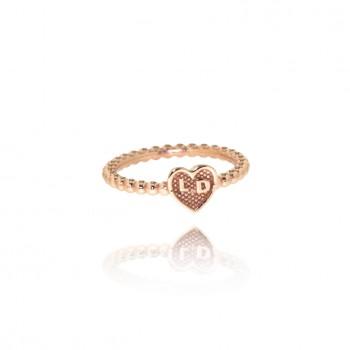 Venus - anello personalizzabile (rosa)