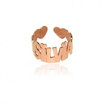 TOON rosa (anello regolabile)