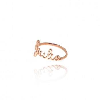 Biro - anello personalizzabile (rosa)