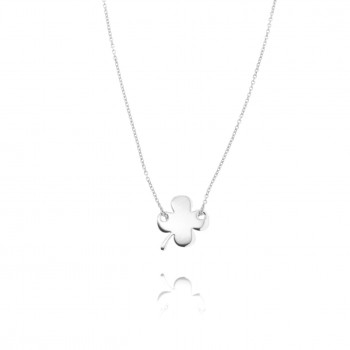 Naive - girocollo in argento (bianco)